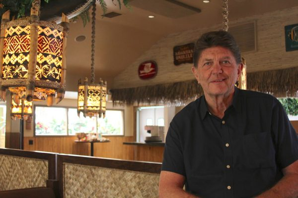 Manager George Poulos is helping revive the Royal Hawaiian.