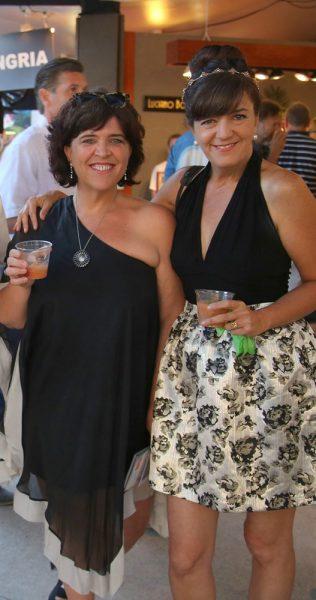 Tori Johnston, left, and Victoria McGinnis