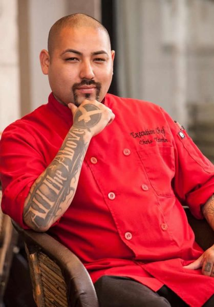 Chef Chris Tzorin
