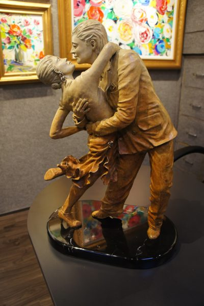 """Tango,"" by Ruiz, shown at Signature Gallery."