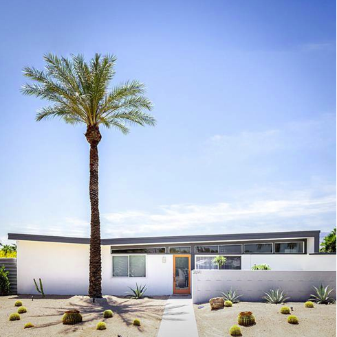 An example of Donald Wexler's work in Palm Springs.Photo courtesty of Laguna Friends of Architecture.