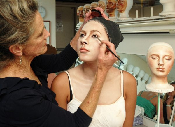 Allyson Doherty will demonstrate makeup's role in the Pageant of the Masters.Photo courtesy of Festival of Arts
