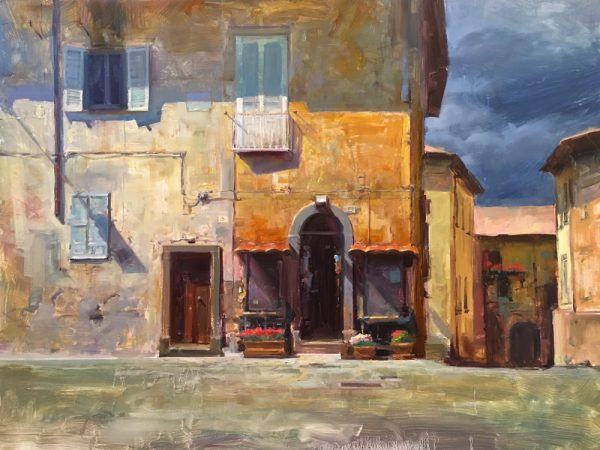 "Pacific Edge exhibits ""Textures of Orvieto."""