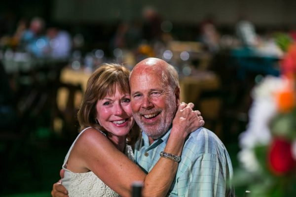 Debbie and Rhodes Martin of Laguna Beach, among the Shea Center supporters.