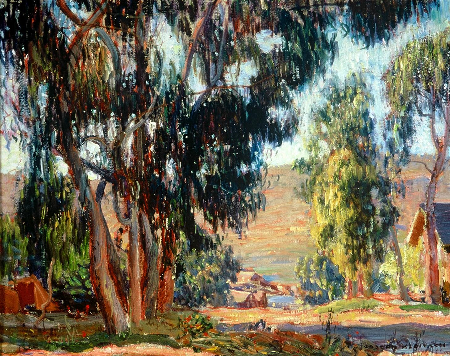 """Glenneyre Street, Laguna Beach,""  circa 1924 by Joseph Kleitsch Courtesy of The Irvine Museum"