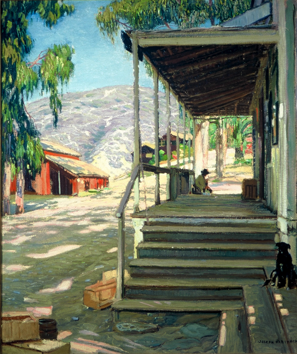 """The Old Post Office,""  by Joseph Kleitsch Courtesy of Laguna Art Museum"