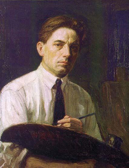 The artist's self-portrait.