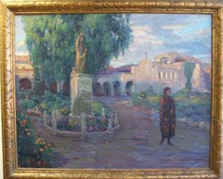 """Evening Shadows,""  1923 By Joseph Kleitsch Courtesy of Laguna Art Museum"