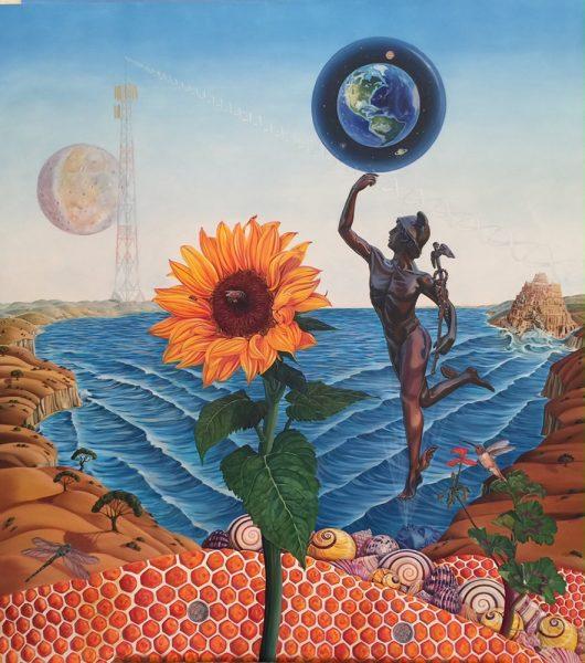 "Annette Wimmer's ""Mercury Rising."""