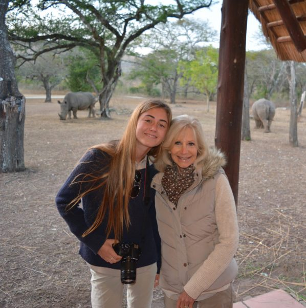 Locals Jill and Kelsey Paul wrote a children's book about the plight of rhinos orphaned in South Africa. They will read at Soul Project.