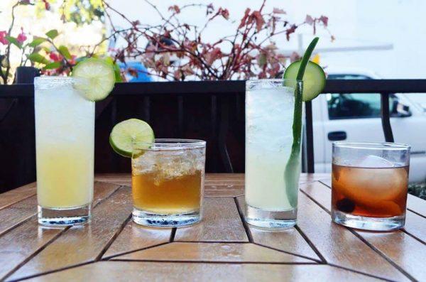 A sample of K'ya's seasonal cocktails.