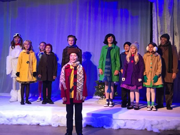 "No Square Theatre's production of ""A Charlie Brown Christmas"" continues this weekend and next."