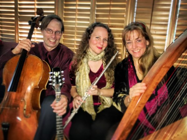 The Celtic Consort trio.