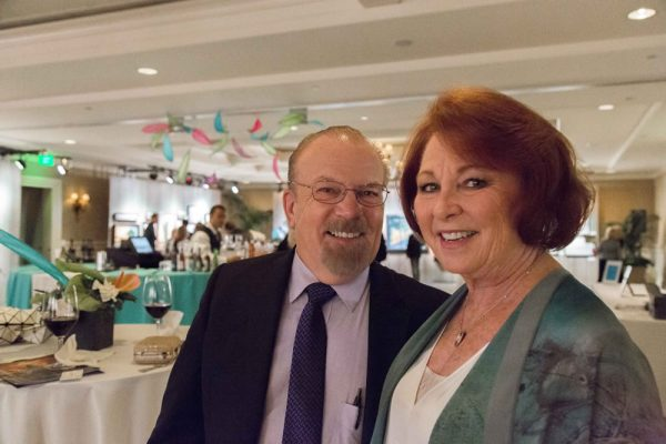 Honorary chairs John and Bonnie Livingston pulled off a successful fundraiser for LCAD.