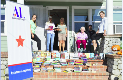 : Assistance League members donate to CSP Youth Shelter, a county program for at-risk youth.