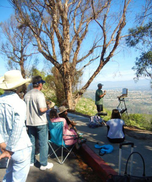 Obermeyer teaches the plein air experience on Jan. 21.