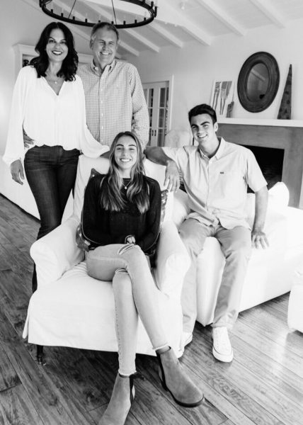 Local Cherry Dickinson, left with husband Alex Dickinson, son Jack and daughter Ingrid, also plans on going to Washington.