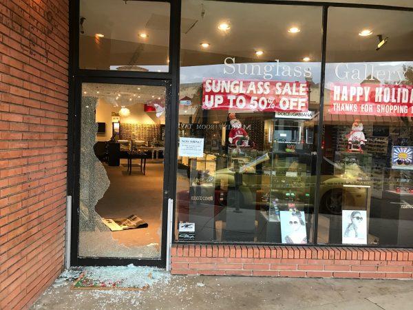 Laguna Beach store hit by burglars over the weekend.