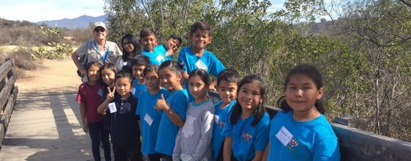 A class learns about the native habitats in the Laguna Coast Wilderness Park last fall.