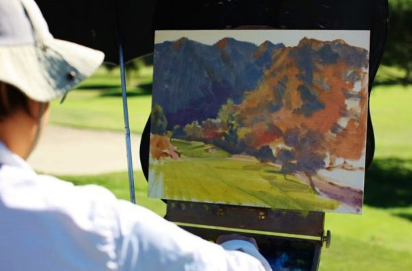 Rita Pacheco teaches landscape painting March 11.