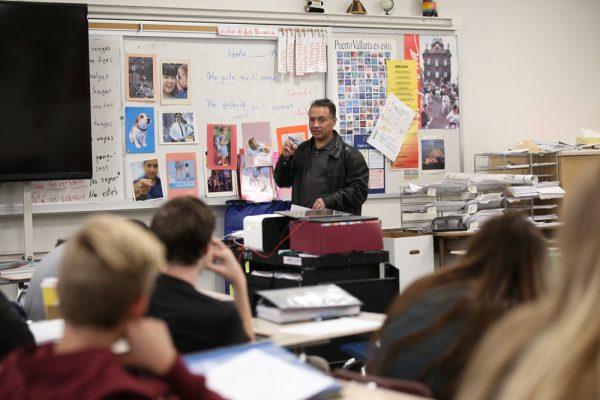 Quick action by Laguna Beach High School teacher Jose Luis Gonzalez is credited with saving the life of a stricken student last week.