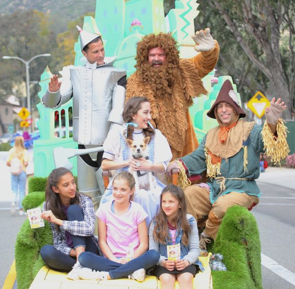 "The Laguna Playhouse promotes their upcoming youth production of ""The Wizard of Oz"" in spectacular fashion."