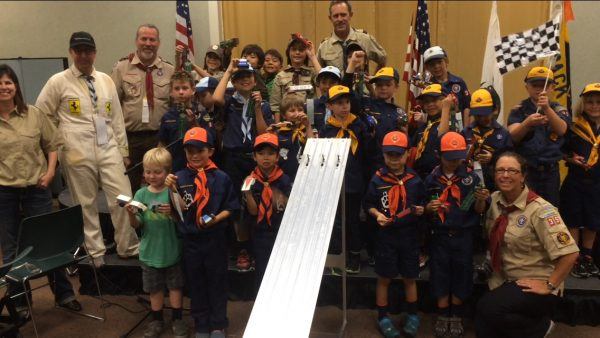 A sample of activities by Scout Pack 35.