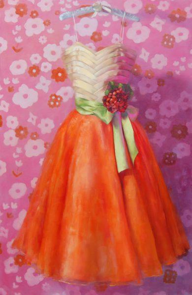 """Capistrano Beach artist Karen Wiechert dresses up """"Cindy."""""""