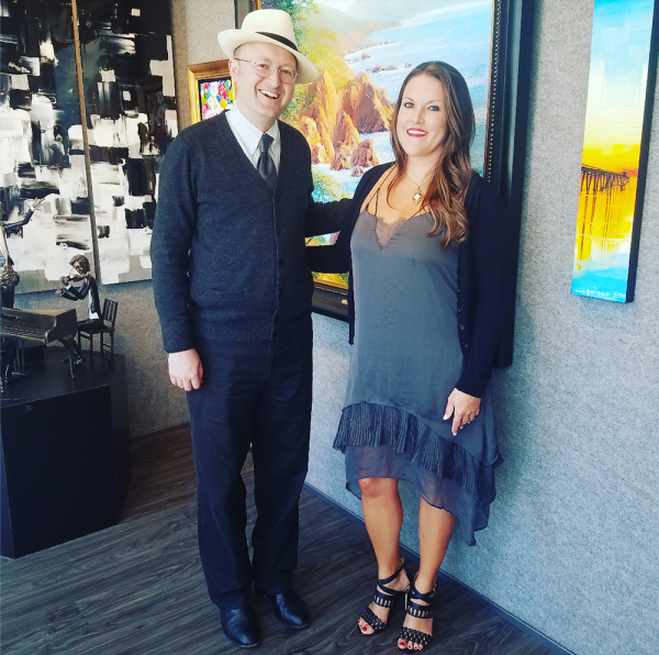 Assembly member Matthew Harper is sponsoring a bill that would benefit Laguna Beach art galleries, written with the help of The Signature Gallery director Jessica Fry.