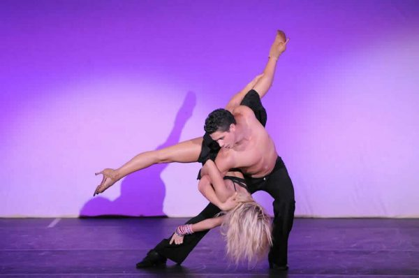 Performers Oksana and Jonathan Platero will dance for festival guests.