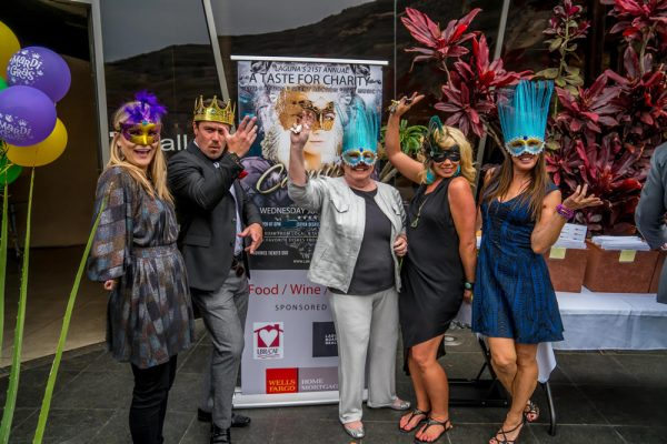 Revelers at last year's Taste for Charity event.