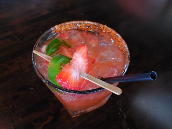 Carmelita's strawberry margarita