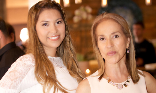 Centrale's owner Anna Driggs and Ana Montoya