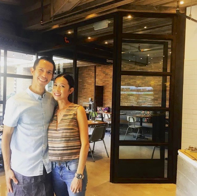 Restaurant owners Thinh and Vy Nguyen