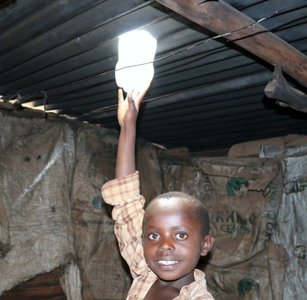 With a $30,000 grant from Impact Giving, Give a Child Life, based in Silverado,  will install 2,000 solar lights -- soda bottles filled with water and bleach -- in windowless huts in Kenya's slums and Maasai communities.
