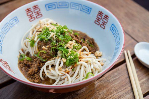Sapphire's noodle dish.