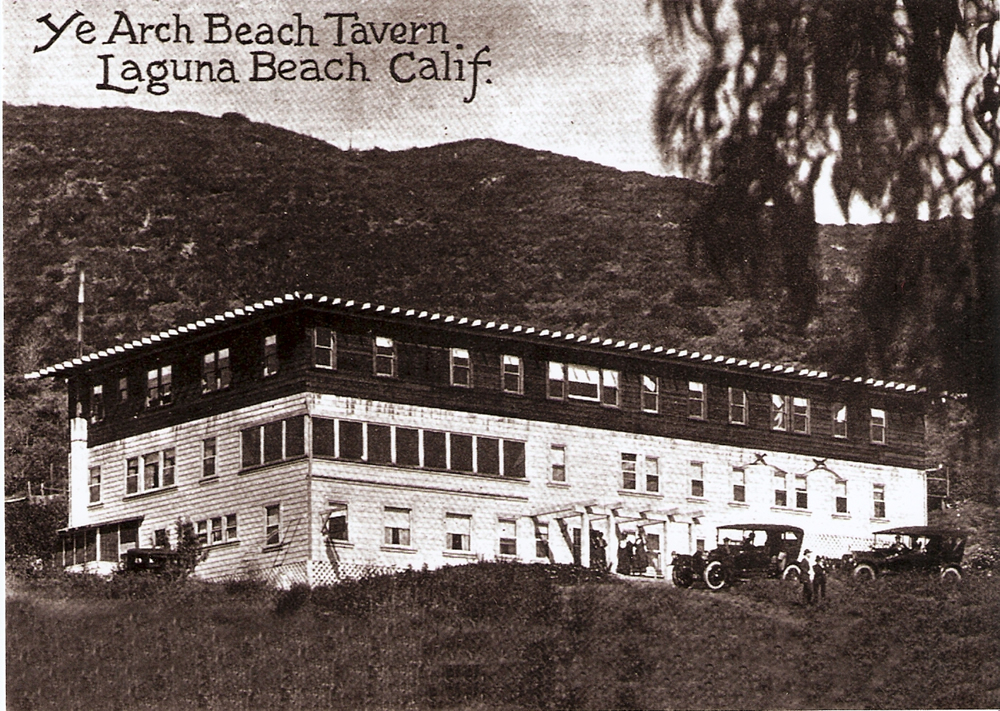 President Roosevelt visits the The White House in Laguna Beach.