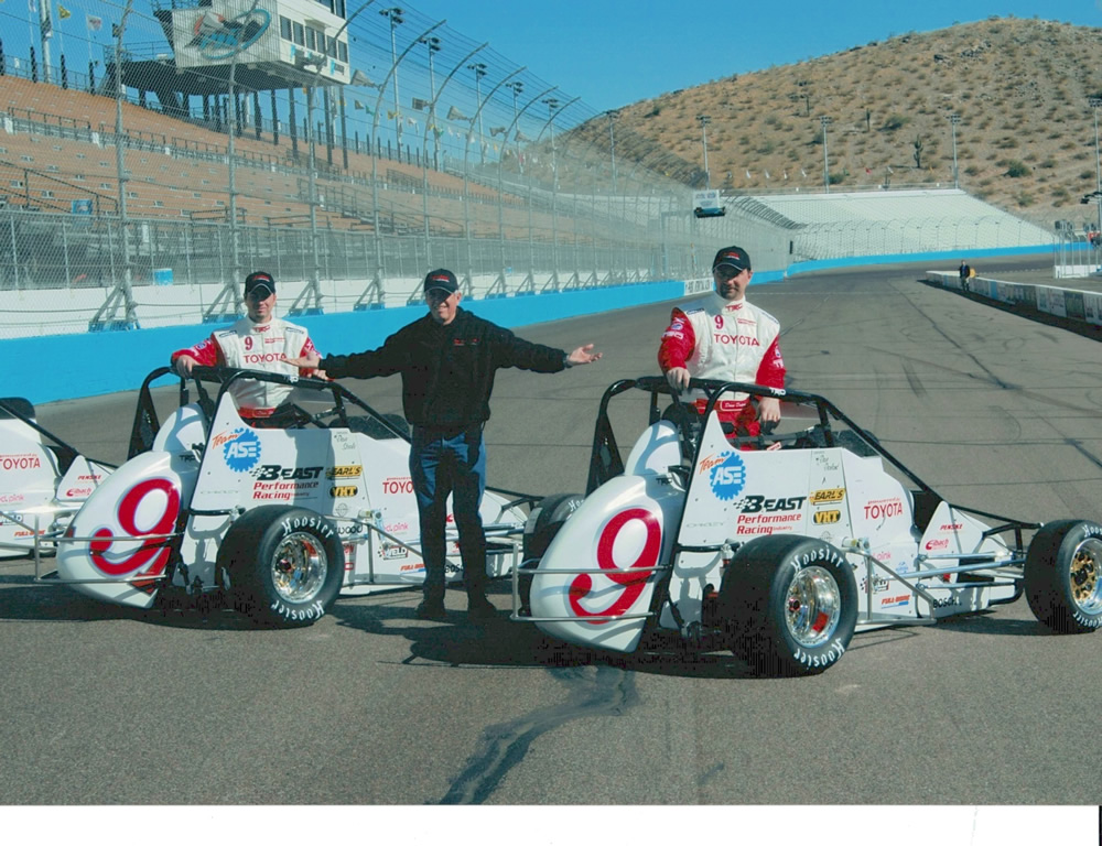 Phoenix midget race cars and equipment