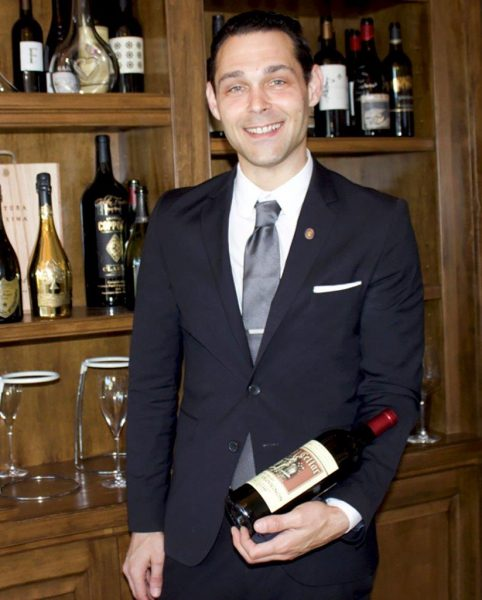 Selanne Steak Tavern sommelier Vito Pasquale.
