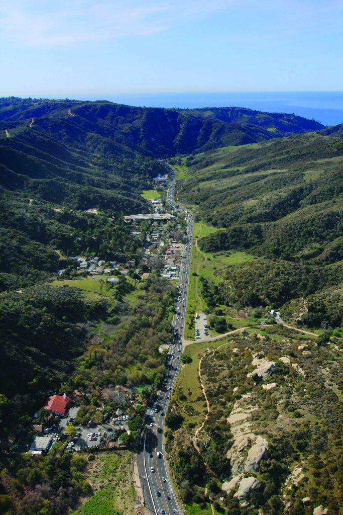 Laguna Canyon Aerial 2