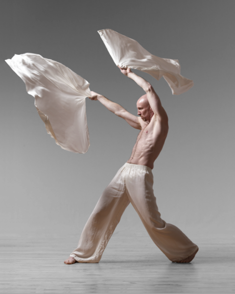 ": The Dance Festival includes a free event, ""Backstage with Paul Taylor Dance Company,"" which features Patrick Corbin, pictured."