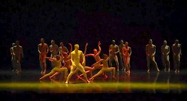 "A scene from the show-stopping ""Bill,"" by Ballet BC, performed last week at the Laguna Dance Festival."