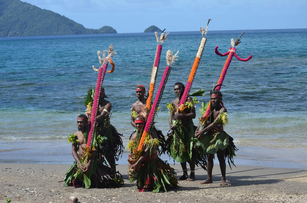 AAUW hosts a talk about the Melanesian Islands, near Australia, and its tradition, including Kastom dancers.