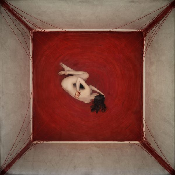 "Brooke Shaden's work ""Undone"" is exhibited at the Artman Gallery."