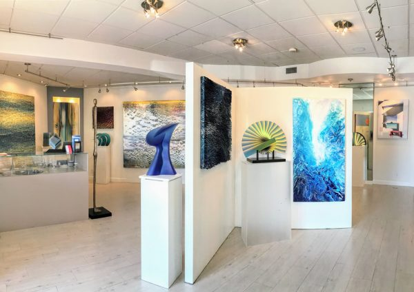 Inside the Avran gallery.