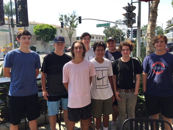 Photo: Back row, from left, Kent Cebreros, Blake Pivaroff, Sam Reynolds and Gustav Morck; front, Enzo Sadler, Mason Lebby, Sam Kluver and Zack Bonnin. Not pictured: Ayrton Garcia, Noah Linder.