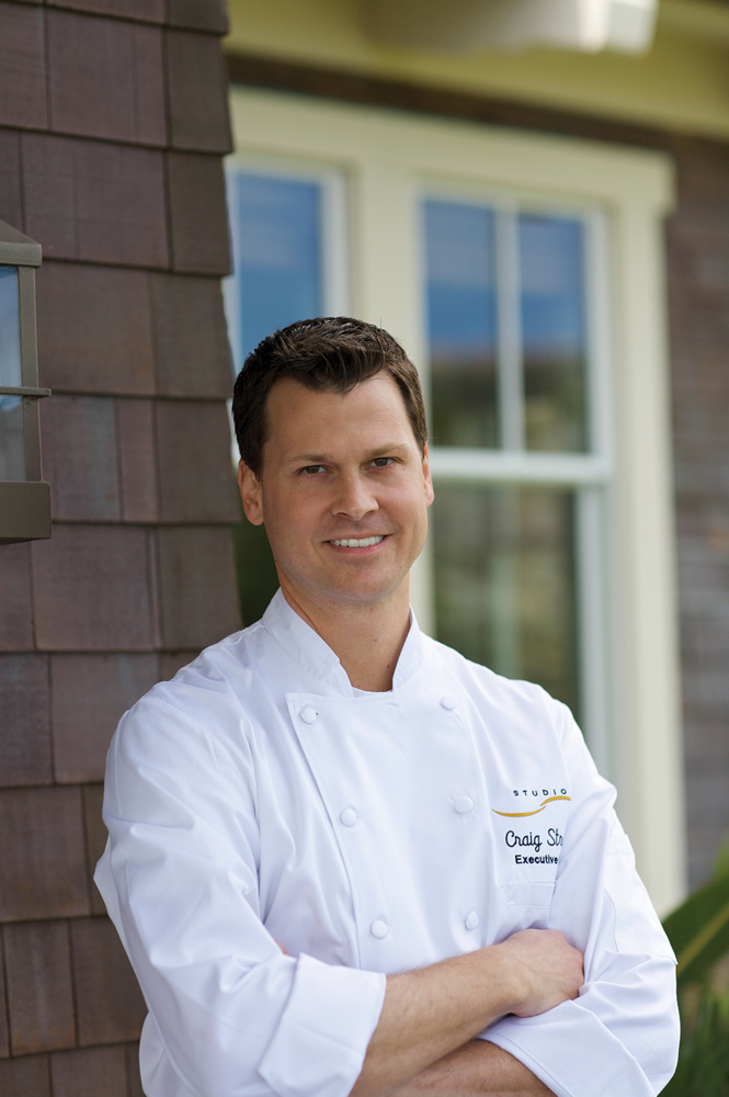 Chef Craig Strong of Studio at the Montage Resort.Photo courtesy of Montage