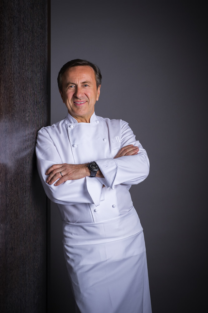Chef Daniel Boulud, chair of ment'or BKB Foundation. Photos courtesy of ment'or Foundation.