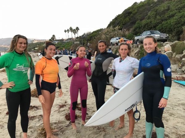 The surfer girls