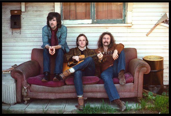 The vocal trio Crosby, Stills & Nash in an undated Diltz image.